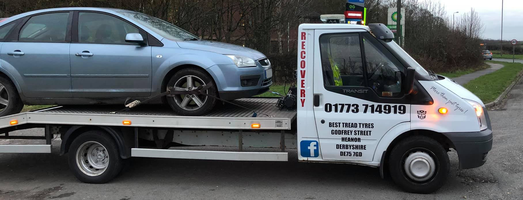 Best Tread Tyres recovery vehicle - Tyres Heanor
