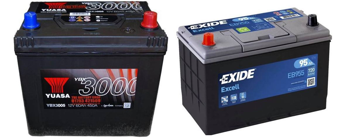 Image of some car batteries - Batteries Heanor